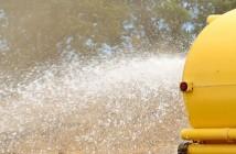 Falta de água na Construção Civil