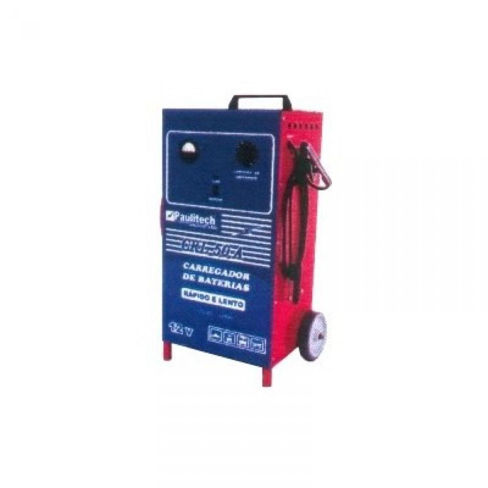 Carregador de bateria - lento/rápido - CRL 50A Bivolt - Paulitech
