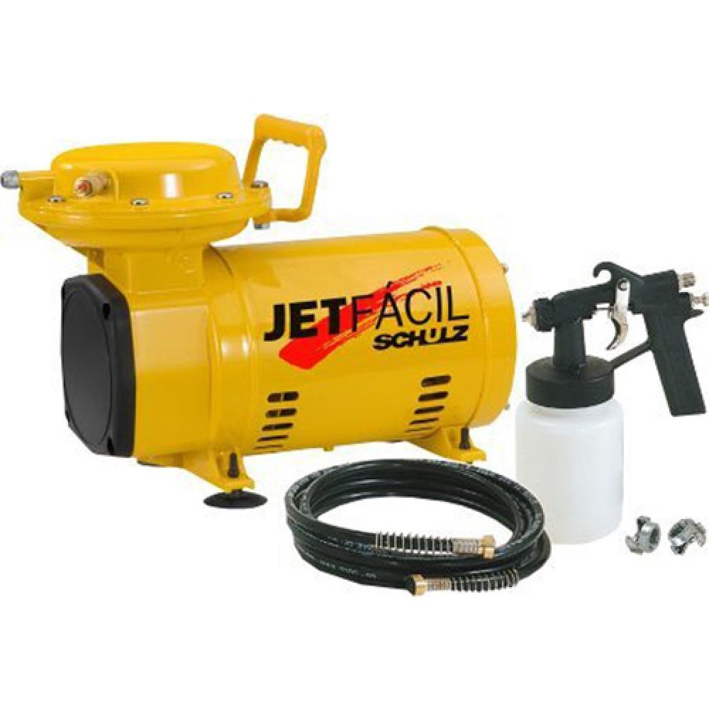 Compressor de Ar Direto - Jet Fácil 2,3 - Bivolt - Schulz