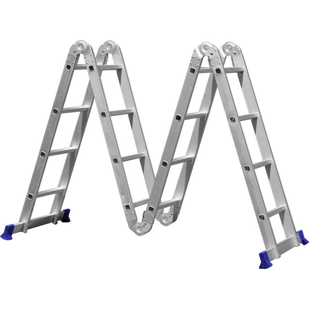 Escada Articulada 16 Degraus 4x4 Multifuncional - Mor
