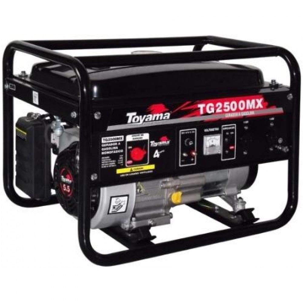 Gerador a Gasolina 2500 Watts - Mod. TG2500MX1 - Toyama