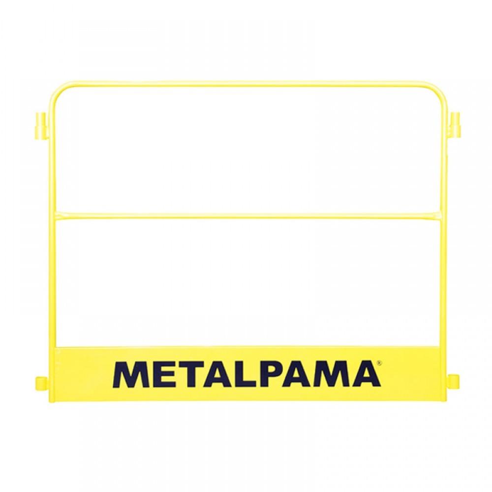 Guarda Corpo de 1,00 x 1,50m Sem Porta - para Andaime - Metalpama
