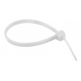 Abraçadeira Nylon Branca 200x2.5mm