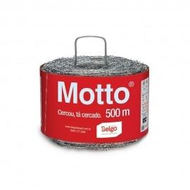 Arame Farpado 1,60mm 500m Motto - Belgo Bekaert