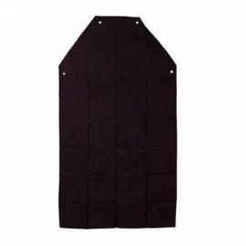 Avental de PVC com forro preto - 70 x 120 cm - Prot-cap