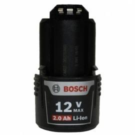 Bateria Bosch de Lítio, 12V Max, 2,0 Ah - Bosch