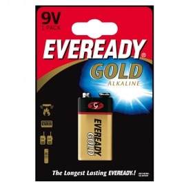 Bateria eveready gold 9v - Energizer