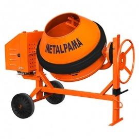Betoneira 400 Litros Com Motor Diesel Com Correias Com Proteção - Metalpama