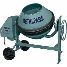 Betoneira 400 Litros Com Motor Monofásico - Construtor - Metalpama