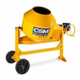 Betoneira 400L Com Motor Monofásico Concreta Com Redutor  - Csm