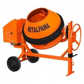 Betoneira 400L - Sem Motor (Base Para Motor Gasolina ou Diesel) - Com Proteção - Metalpama