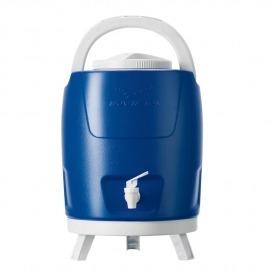 Botijão Térmico 9 Litros Com Torneira - Azul - Invicta