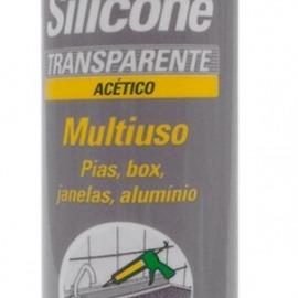 Brascoved Silicone Transparente Acético Construção  - 280g - Brascola