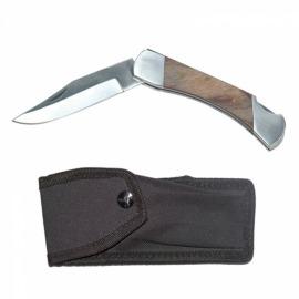 Canivete Cabo de Madeira com Bainha - 72.200.10- Corneta
