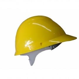 Capacete Plastico Avant Amarelo Com Suspensão - Camper