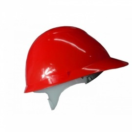 Capacete Plastico Avant Vermelho Com Suspensão - Camper