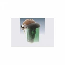 Capacete de segurança - com proteção facial - verde - Prot-cap