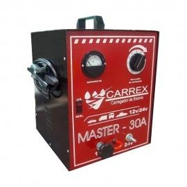 Carregador de Bateria 30A Master 12v - Carrex