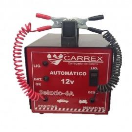 Carregador de Bateria 6A Automático - Carrex