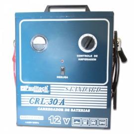 Carregador de bateria - lento/rápido - STD 30A - standard Bivolt - Paulitech