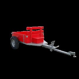 Carreta Simples 1300 R13 Para Motocultivador Com Pneus - Maquina Fort