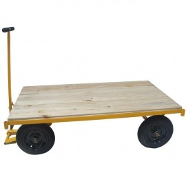 Carro Plataforma Base Madeira - 600 Kg - MP-600 - Lynus