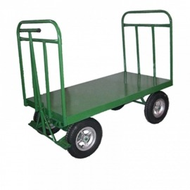 Carro Plataforma Metal - 1000kg - 2 Abas - Carroleve
