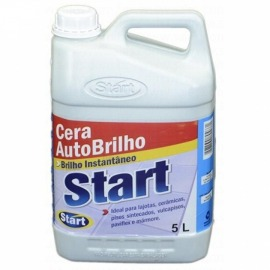 Cera auto brilho start 5 litros  - Sales