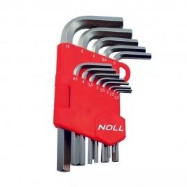 Jogo de Chave Allen 13 Peças - 1,3 A 10mm - Noll