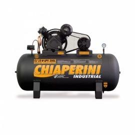 Compressor ar 15+ APV - 200l - com motor mono - Chiaperini