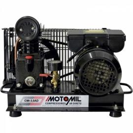 Compressor de Ar Direto - CMI-3,0AD -  Motor Monofásico 4 Polos - 110/220V - Motomil