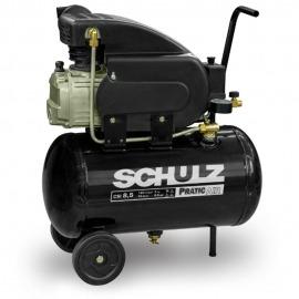 Compressor Ar 8,5 /25 Litros - CSA Monofásico Sem kit - Schulz