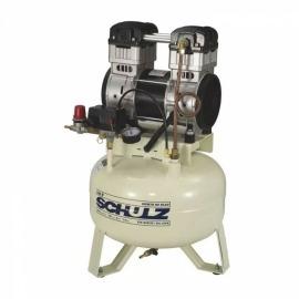 Compressor Ar Odontológico Com Motor Mono - 9,0/30l - Schulz