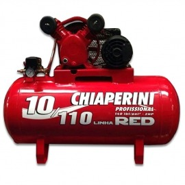 Compressor de Ar 10/110 Linha RED Com Motor Monofásico - Chiaperini