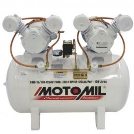 Compressor de Ar 12/150-CMO Monofásico 110/220v - Motomil