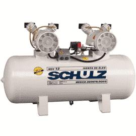 Compressor de Ar 12/200-MSV Com Motor Monofásico 220v - Schulz