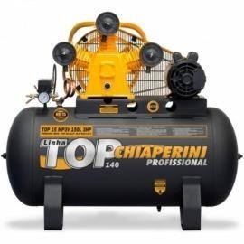 Compressor de Ar 15 MP3V 150L TOP com Motor Monofásico - Chiaperini