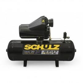 Compressor de Ar AUDAZ 20/150L-MSCV20 - 5CV - Trifásico - Schulz