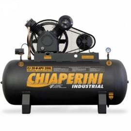 Compressor de Ar CJ 20+ APV 200L - Com Motor Trifásico 5,0HP - Chiaperini