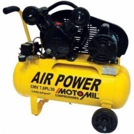 Compressor de Ar - CMV - 7,6PL/30 - Monofásico - Motomil