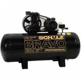 Compressor de Ar  CSL - 15BR/200L - Trifásico - Bravo - Schulz
