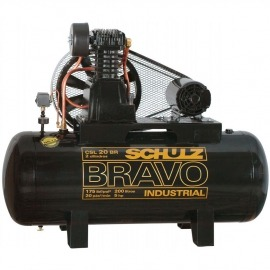 Compressor de Ar - CSL 20BR/200L - Bravo - Schulz