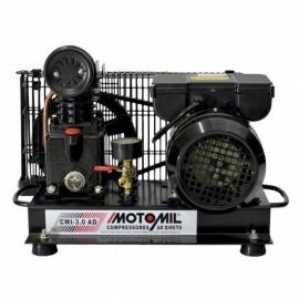 Compressor de Ar Direto - CMI-3,0AD - com Motor Monofásico - Motomil