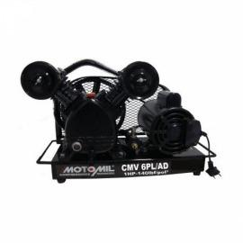 Compressor de Ar Direto - CMV-6,0PL/AD - com Motor Monofásico - Motomil