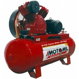 Compressor de Ar - MAV- 20/200 - Com Motor Trifásico - Motomil