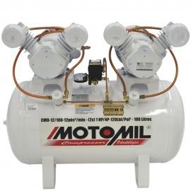 Compressor de Ar Odontológico - CMO - 12/100 - Motomil