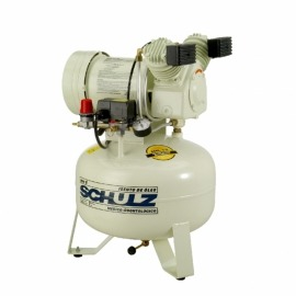 Compressor de Ar Odontológico - MSV-6,0/30 - Motor Monofásico Sem Óleo - 110v - Schulz