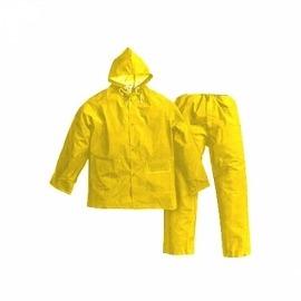 Conjunto Pvc Para Chuva Amarela