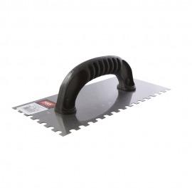Desempenadeira Metal Dentada 25,5 x 12cm - Max Ferramentas