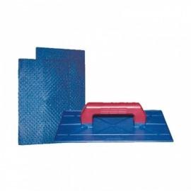Desempenadeira Plastica 14 x 26 Cm Corrugada - Seniors